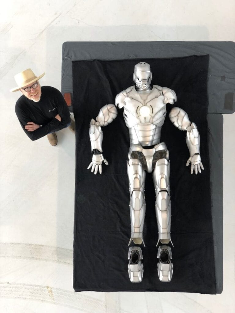 What a Fully Functioning Iron Man Suit Looks Like [Source: Boing Boing]
