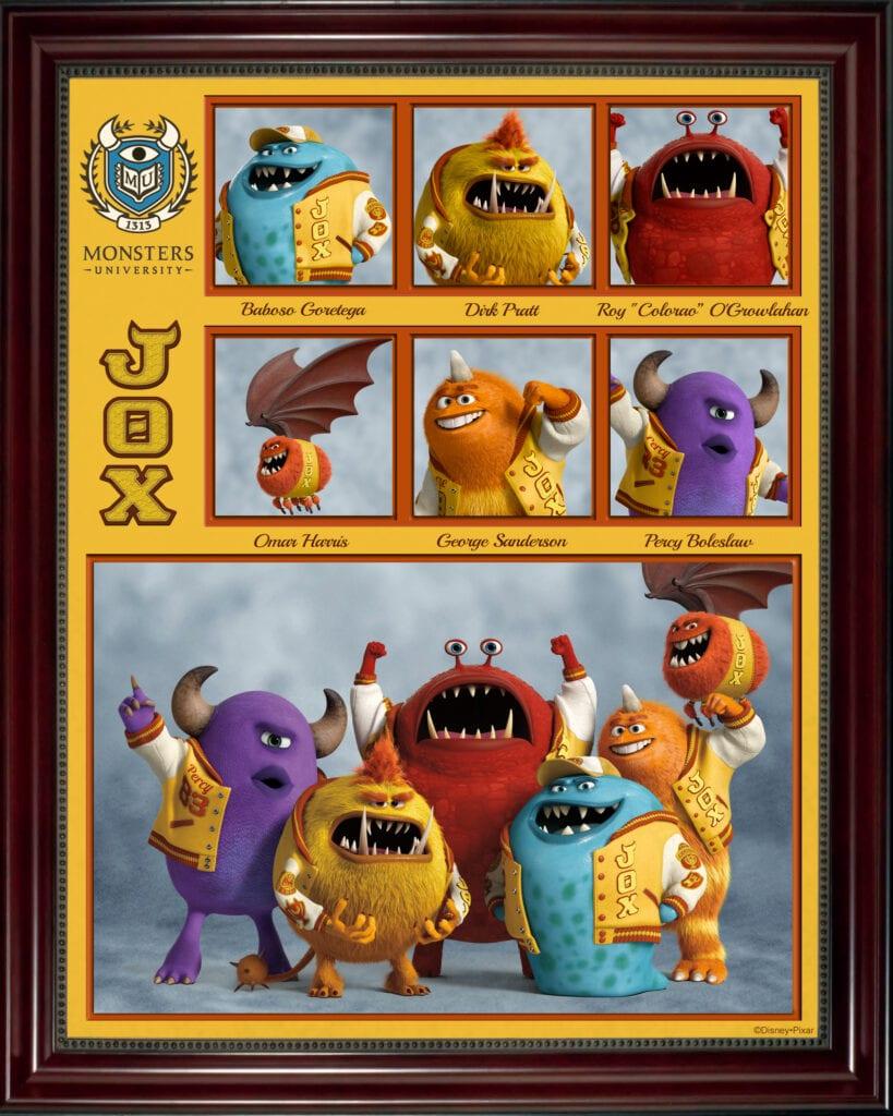 Monsters University Fraternity Sorority