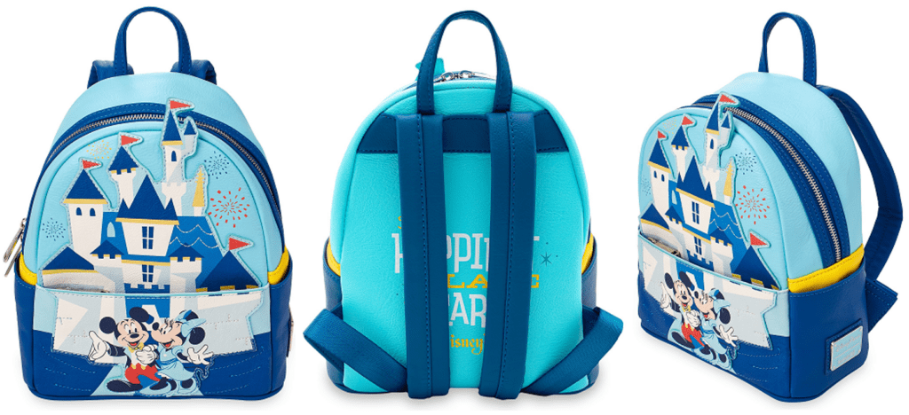 Disneyland 65th Anniversary Loungefly Backpack