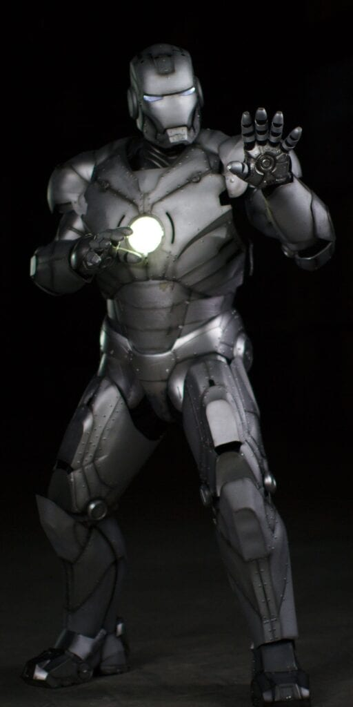 What a Fully Functioning Iron Man Suit Looks Like [Source: Wired/Discovery Communications LLC]