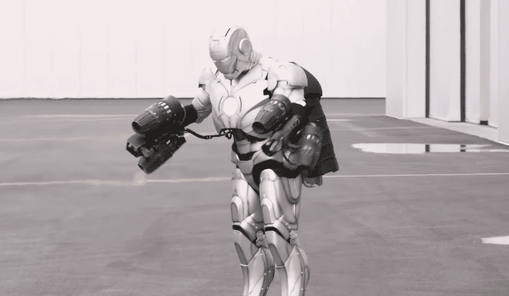 What a Fully Functioning Iron Man Suit Looks Like [Source: Indiewire/CNET/YouTube]