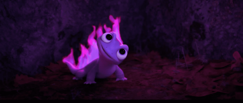 What's the Salamander from Frozen 2 Name? Here's the Answer. [Source: Disney]