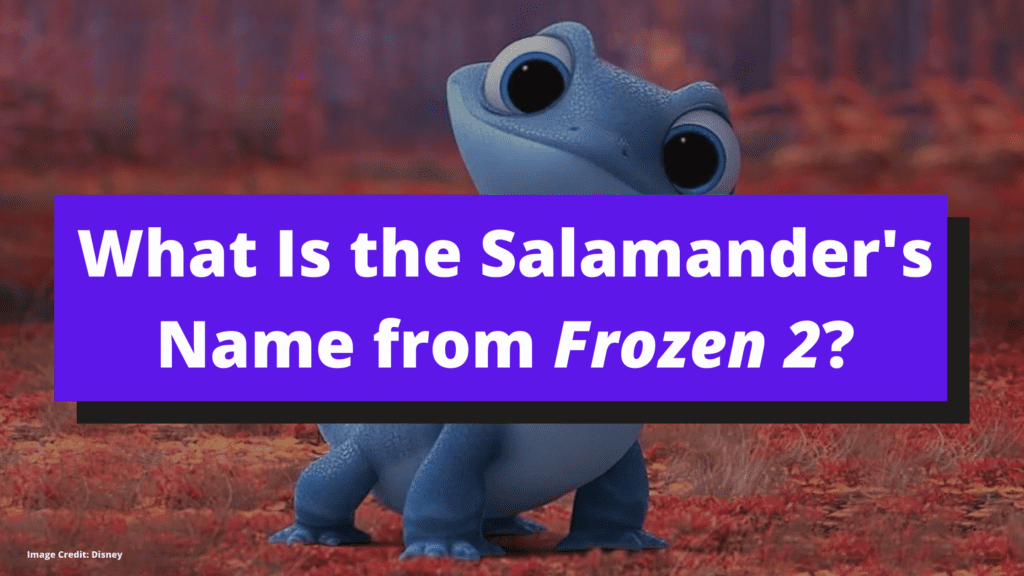 What's the Salamander from Frozen 2 Name? Here's the Answer.