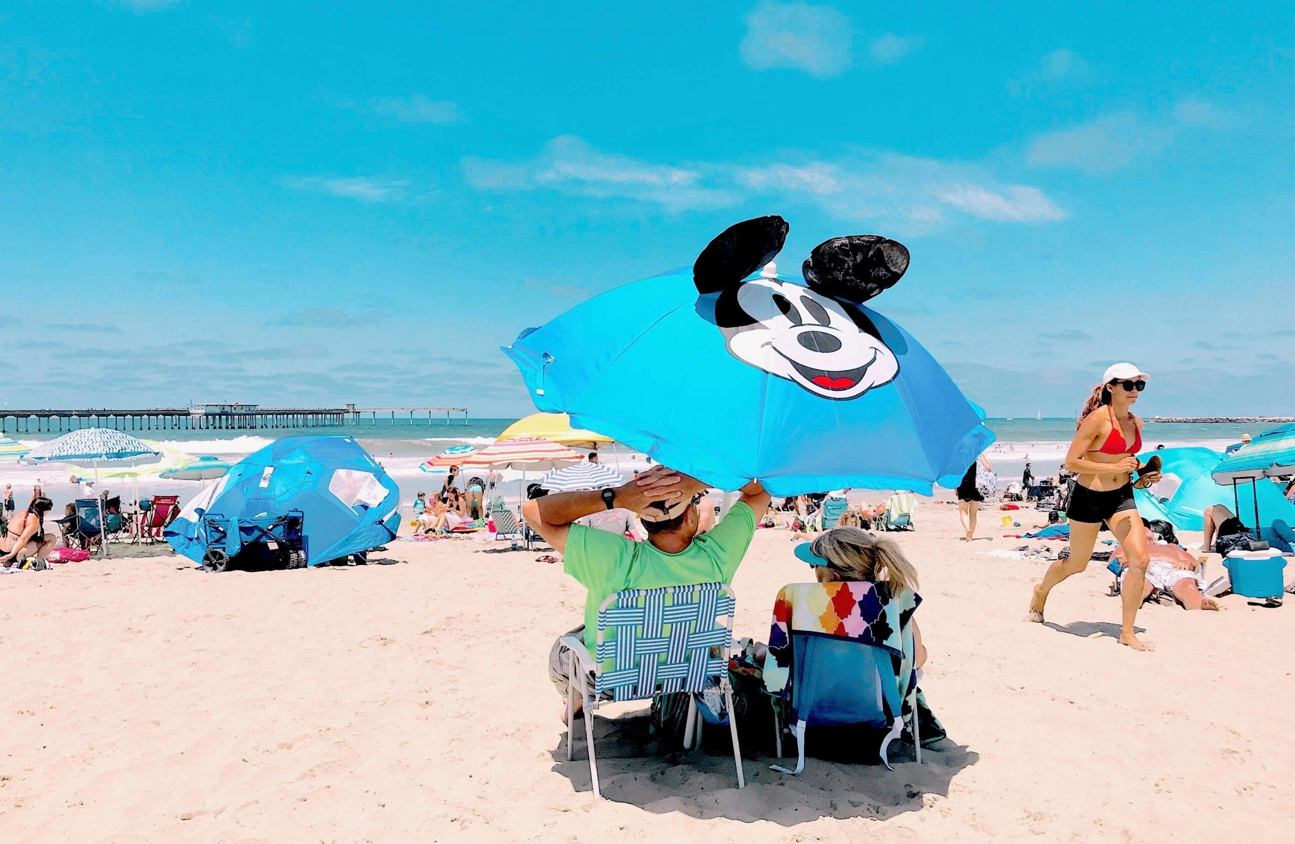 Mickey Mouse Beach Umbrella for Summer