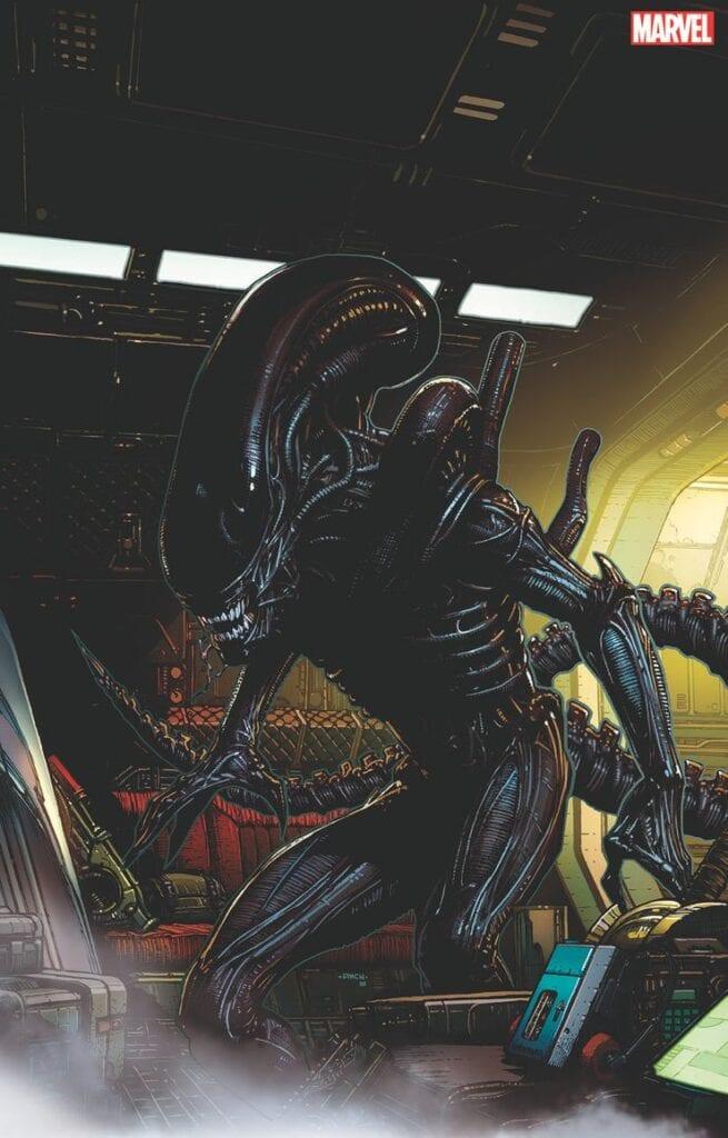 Marvel, Alien, Predator [Source: Marvel Comics]