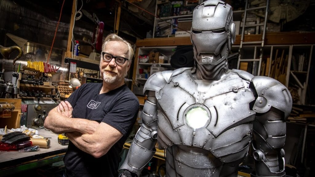 Adam Savage from Popular TV Series Mythbusters [Source: YouTube]
