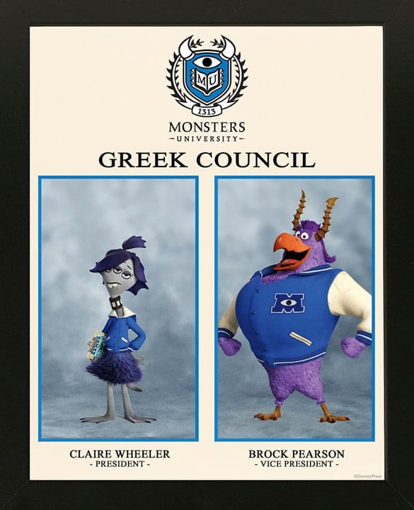 All 12 Monsters University Fraternity and Sorority Houses (LIST) [Source: Pixar]