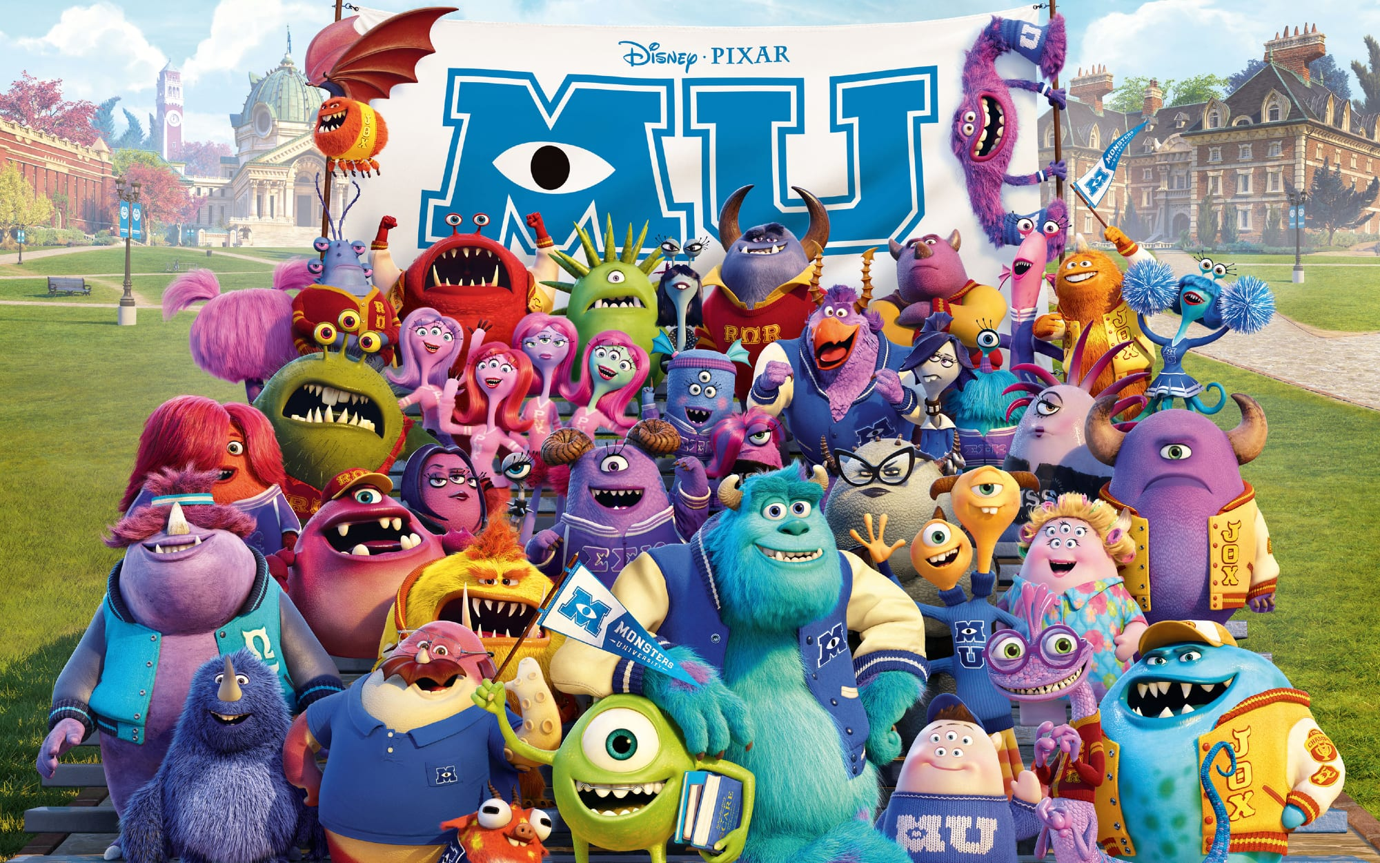 Monsters University Fraternity Sorority