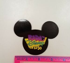 A Radio Disney Mickey Mouse Magnet Similar to the One We Had Growing Up [Source: eBay]
