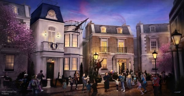Mary Poppins Attraction Ride at Epcot [Source: Disney]