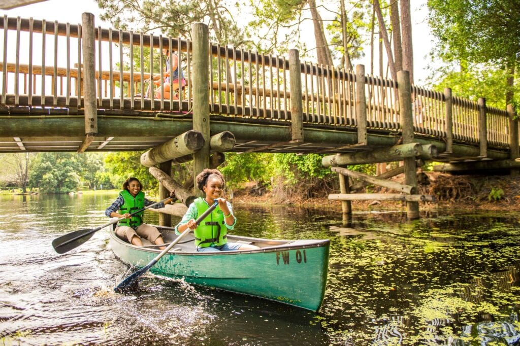 Canoe Rentals at Disney's Fort Wilderness Resort and Campground [Source: Fodors Travel Guide]