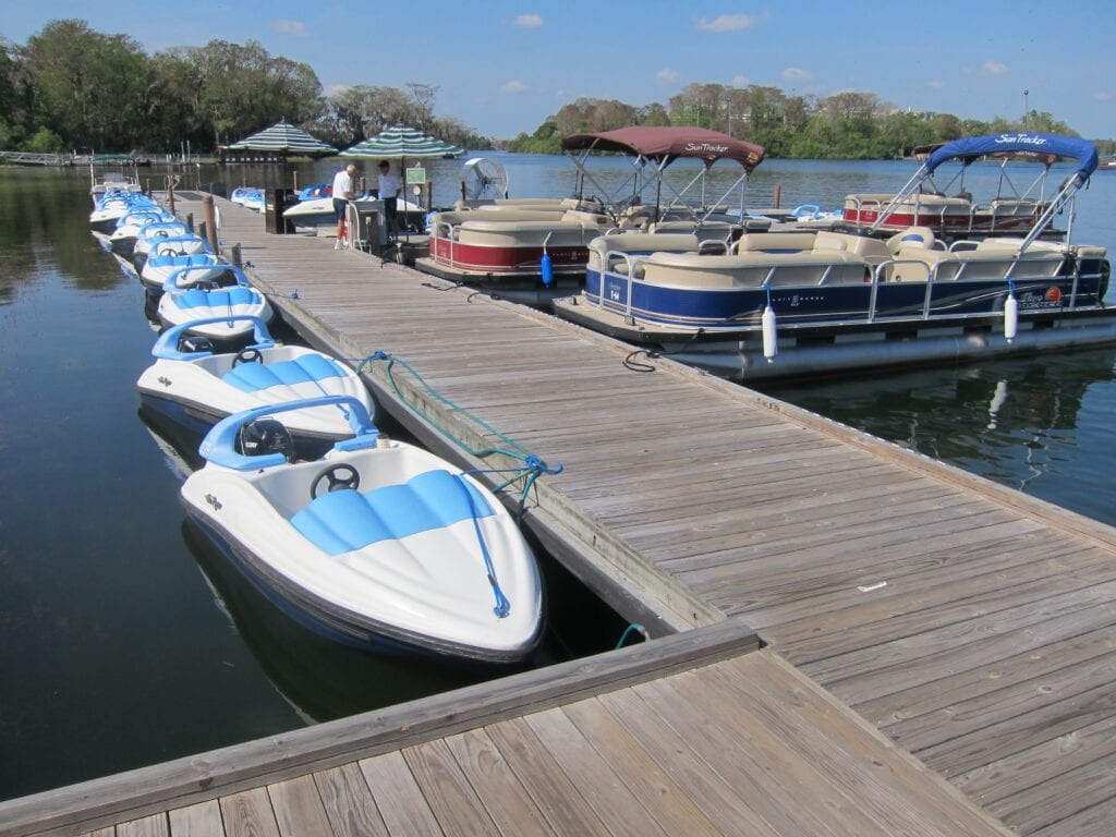 Boat Rentals at Disney World [Source: Touring Plans]