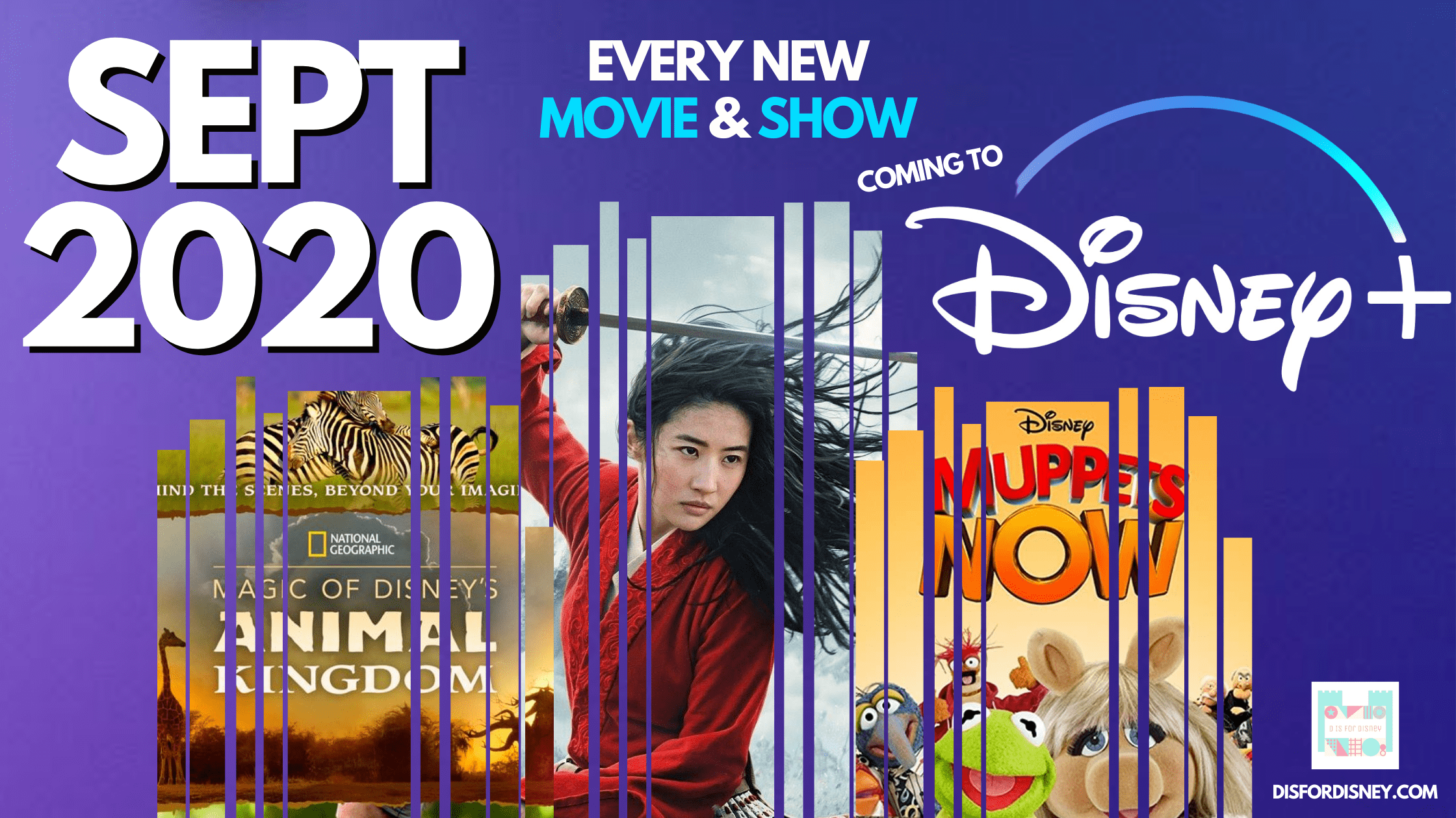 Disney Plus September 2020
