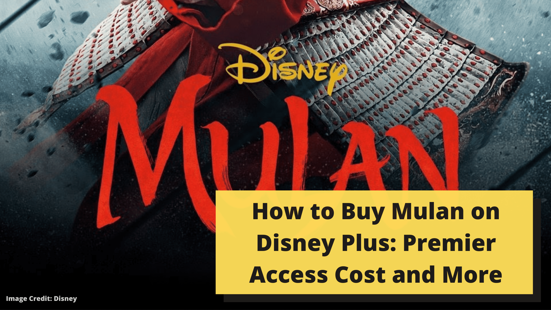 How to Buy Mulan on Disney Plus: Premier Access Cost and More
