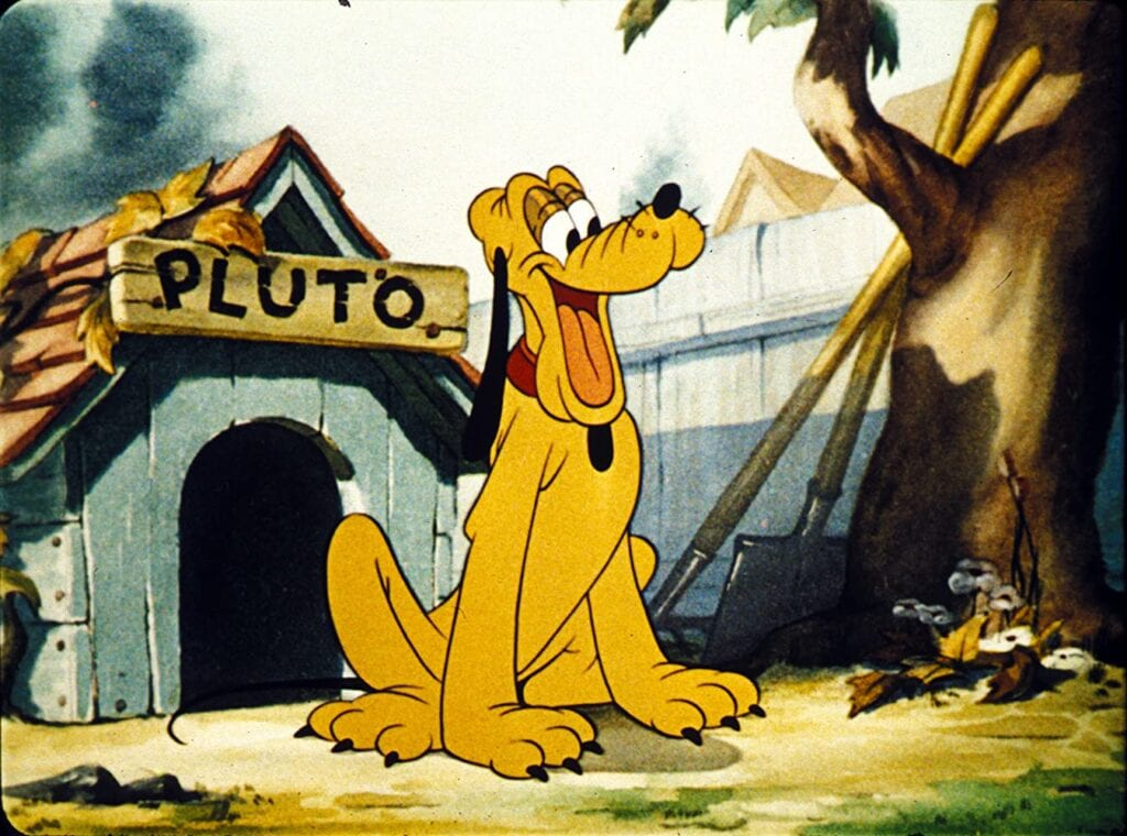 Why Did Mickey Mouse Become an Astronaut? To Visit Pluto! [Source: Disney]
