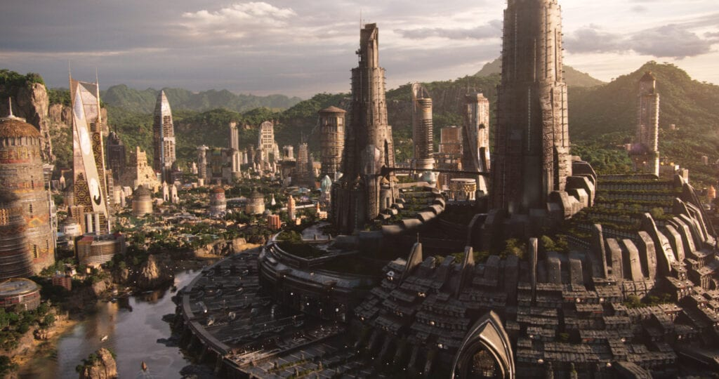 Wakanda in Marve's Black Panther Movie [Source: Marvel]