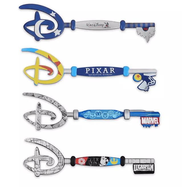 Disney Studios Collectible Key Set: Full Collection [Source: Disney]