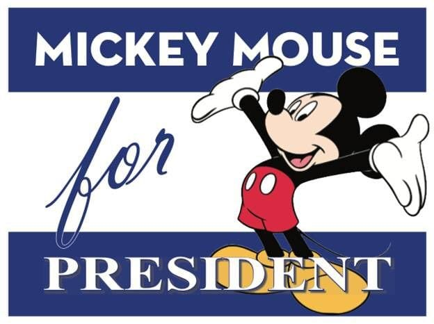 How Many People Vote for Mickey Mouse for President Every Year? [Source: Amino Apps]