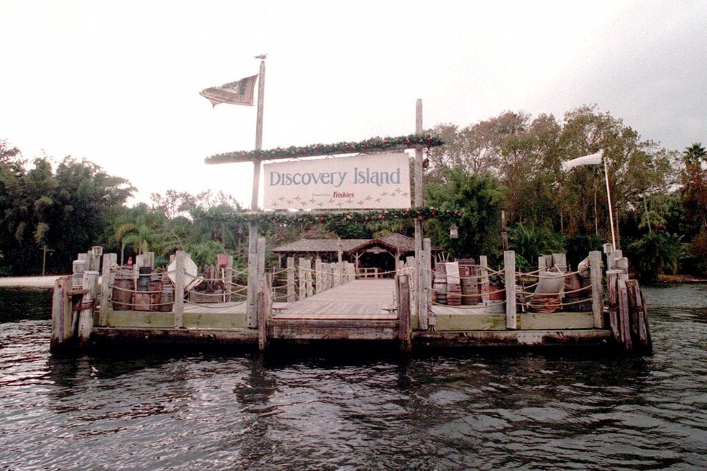 Disney World Discovery Island [Source: New York Post]