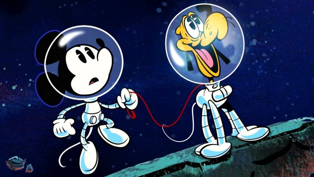 Why Did Mickey Mouse Become an Astronaut? [Source: Disney via YouTube]