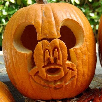 How to Carve Mickey Mouse Pumpkins for Halloween [Source: Disney Family]