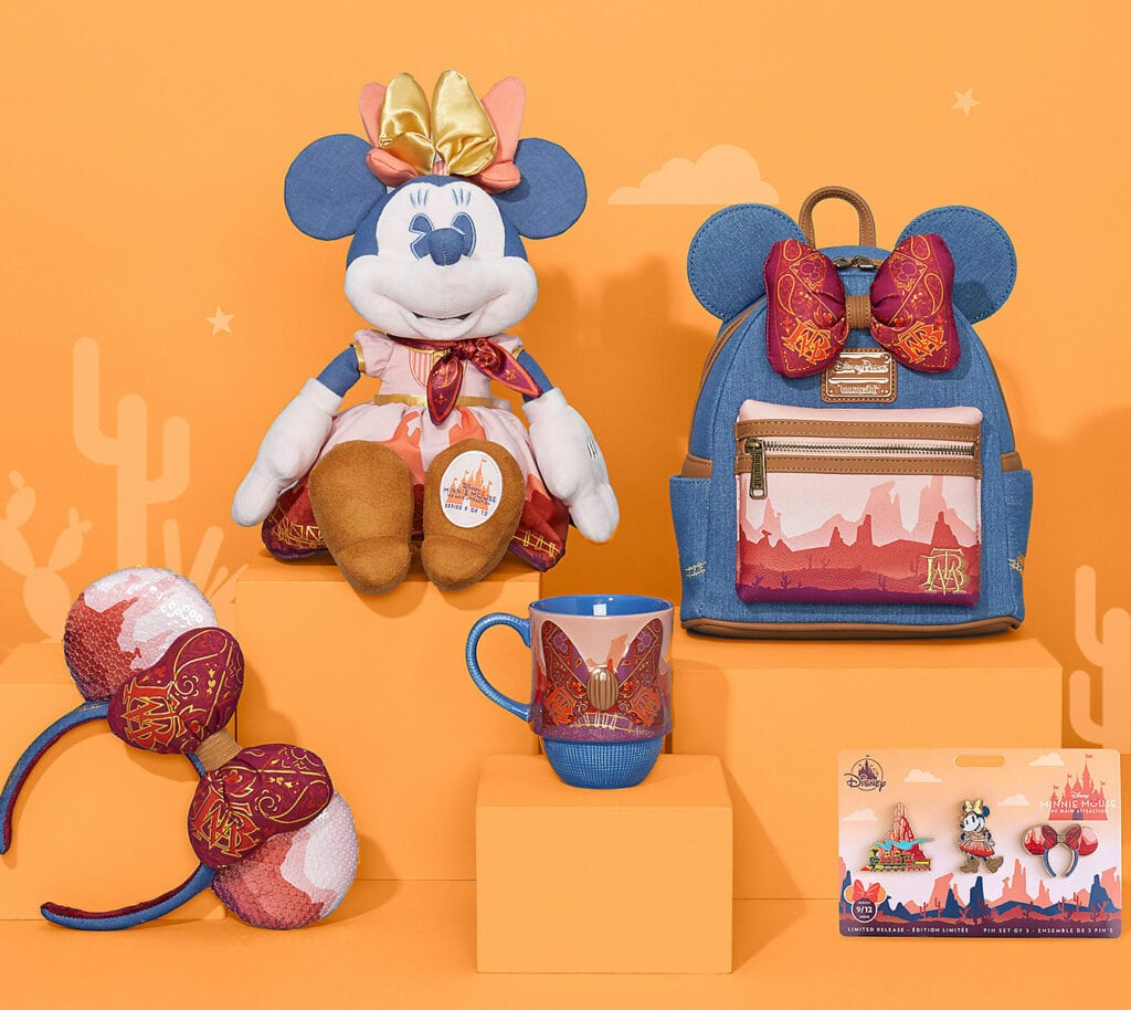 September 2020 - Minnie Mouse Big Thunder Mountain Railroad Collection Minnie Mouse - The Main Attraction Collection at shopDisney.com!