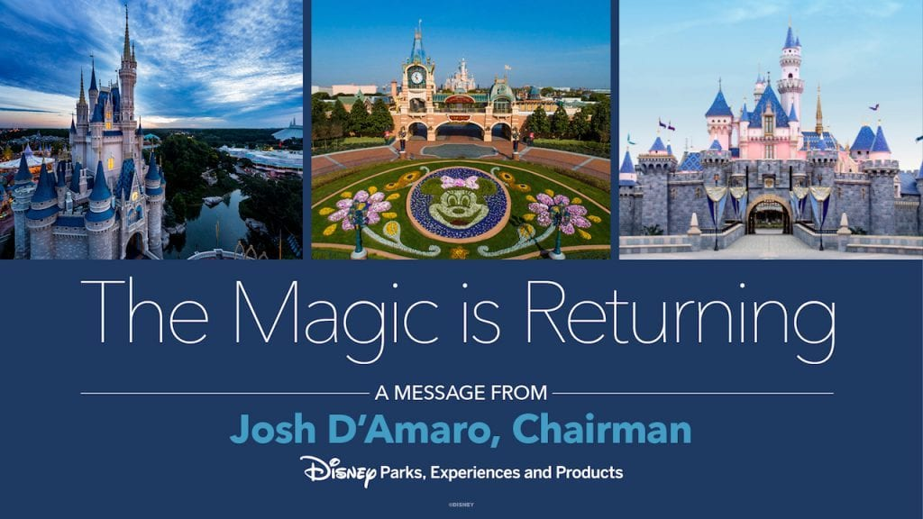 When Will Disneyland Reopen? The Magic Is Returning [Source: Disney Parks]