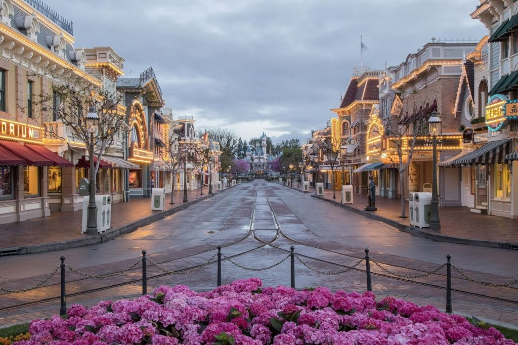 Disneyland Without Guests [Source: Disneyland]