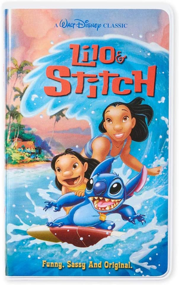 Disney VHS Notebooks Lilo and Stitch