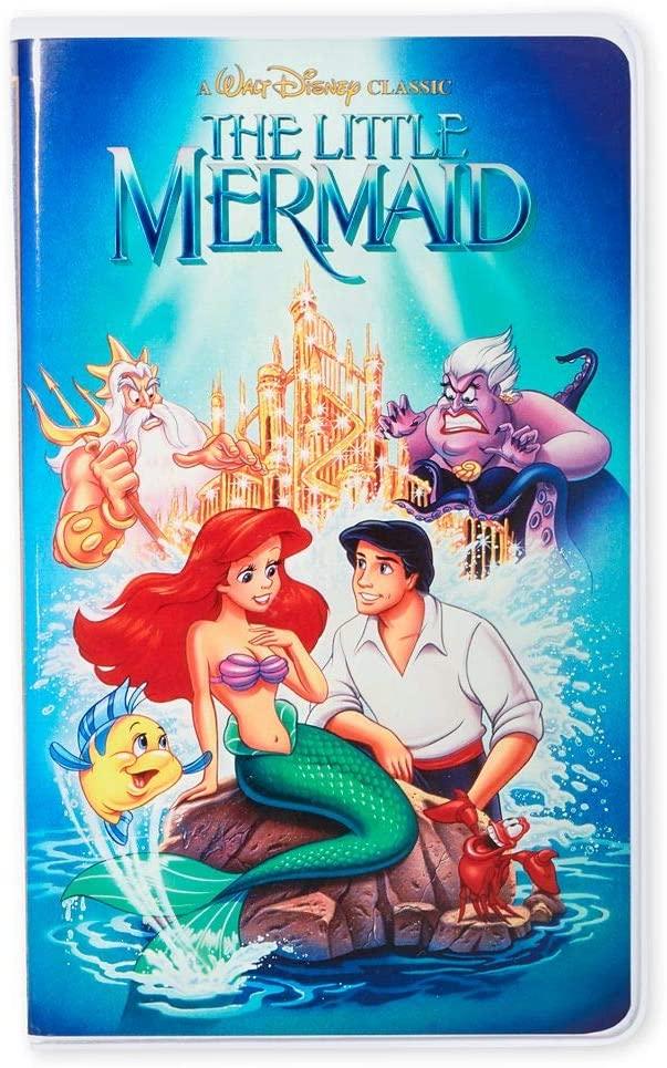 Little Mermaid Disney VHS Notebook Journals