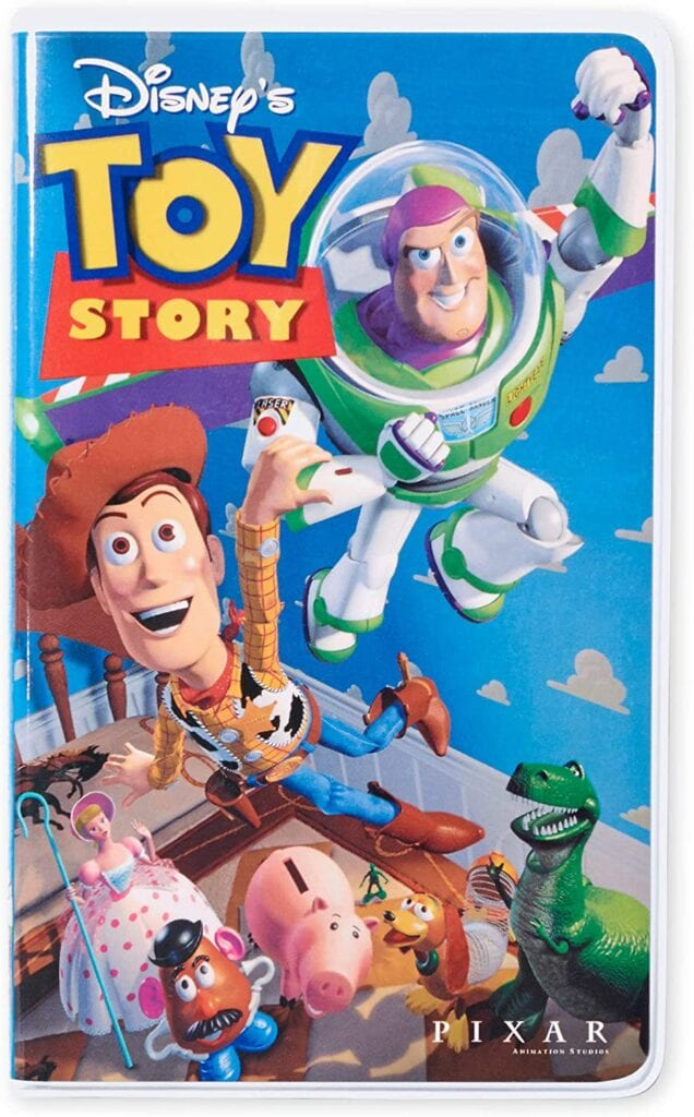 Toy Story Pixar Disney VHS Notebook Journals