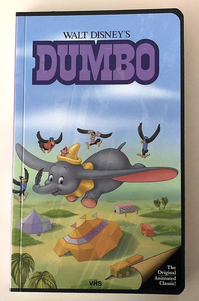 Dumbo Disney's VHS Notebook Journals
