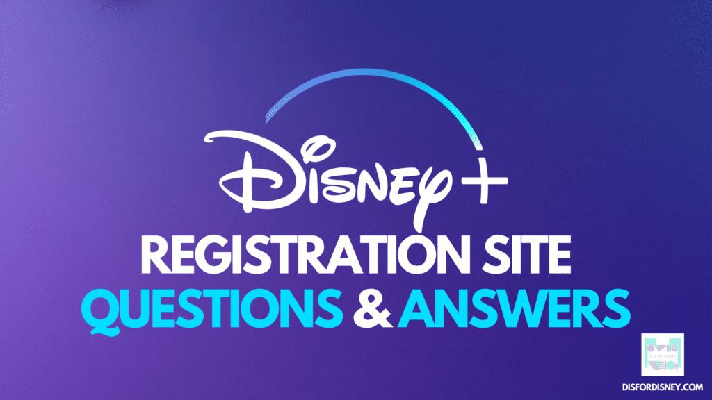 Disney Plus Registration Site How to Register Samsung TV