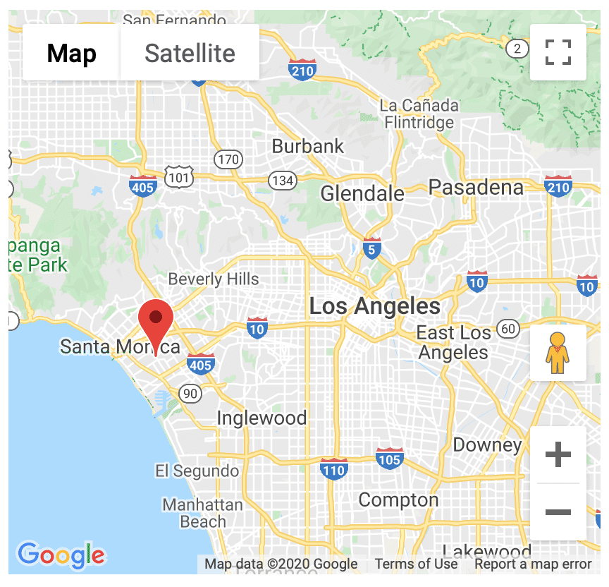 Disney+ Drive In Festival at the Barker Hanger in Santa Monica, CA [Source: Google Maps]