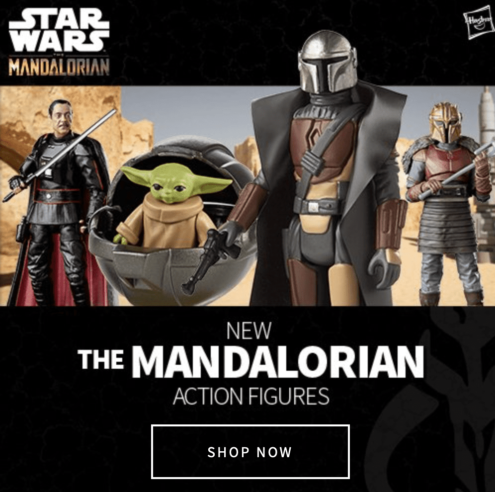 Mando Monday at Entertainment Earth [Source: Entertainment Earth]
