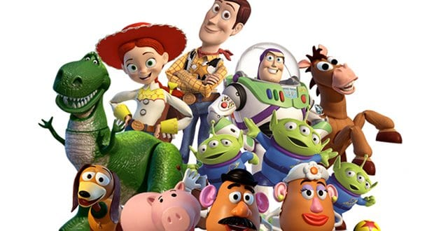 Toy Story 2 Cast of Characters [Source: Pixar / Disney]