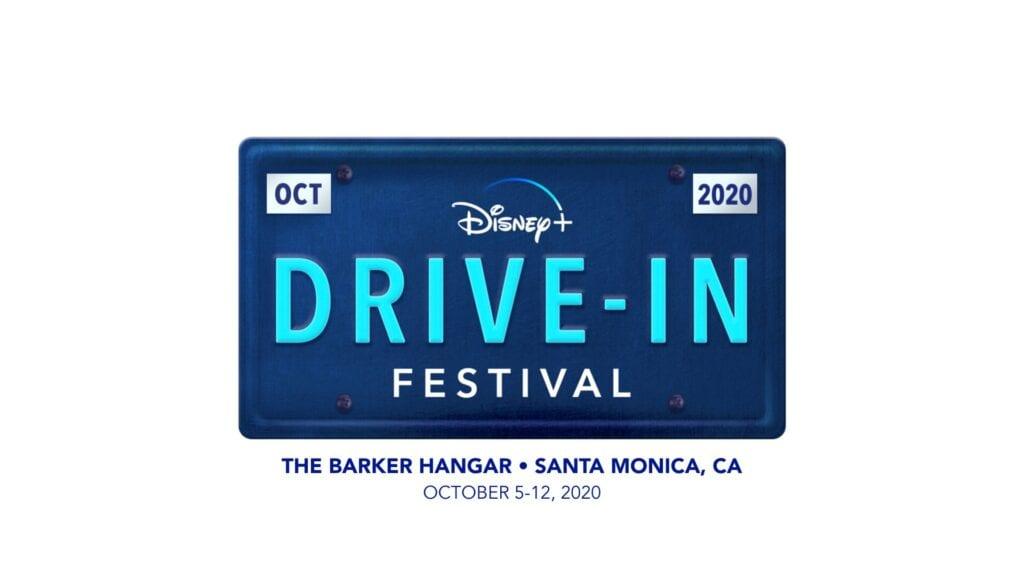 Disney+ Drive In Festival at Barker Hanger in California [Source: Disney+ Drive-In Festival]