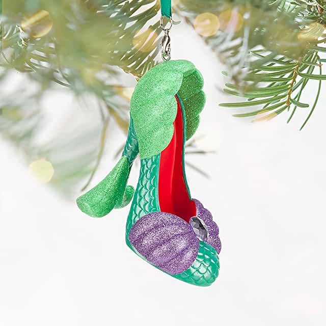 17 Magically Festive Disney Princess Shoe Ornaments for Christmas