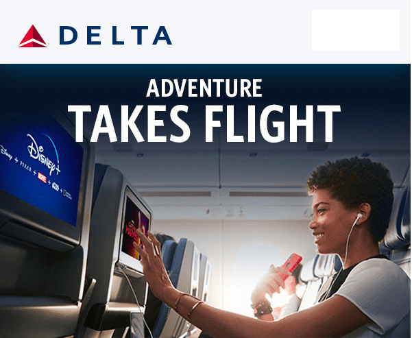 Free Disney Plus with Delta SkyMiles [Source: Delta]