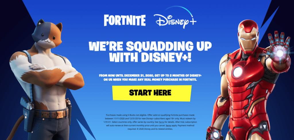 Fortnite/DisneyPlus [Source: Fortnite.com/DisneyPlus]