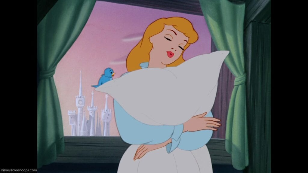 A Dream Is a Wish Your Heart Makes in Cinderella [Source: Disney]