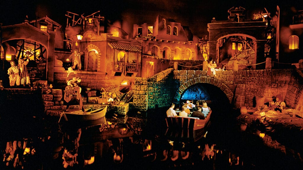 People Speculated That Walt Disney's Frozen Body Lay Beneath Pirates of the Caribbean at Disneyland [Source: Inside the Magic]