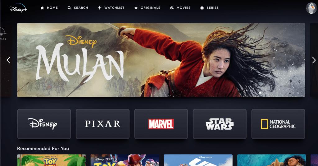 How to Change Language on Disney Plus on TV [Source: Disney+]