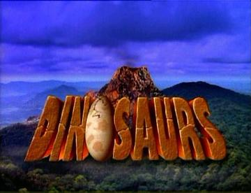 Dinosaurs TV Show Opening Logo [Source: Wikipedia]
