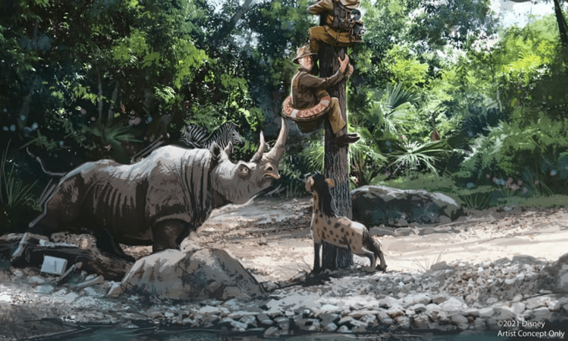 Disney Jungle Cruise Update
