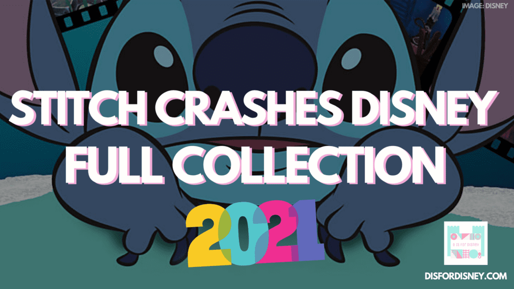 Stitch Crashes Disney Full Collection on ShopDisney