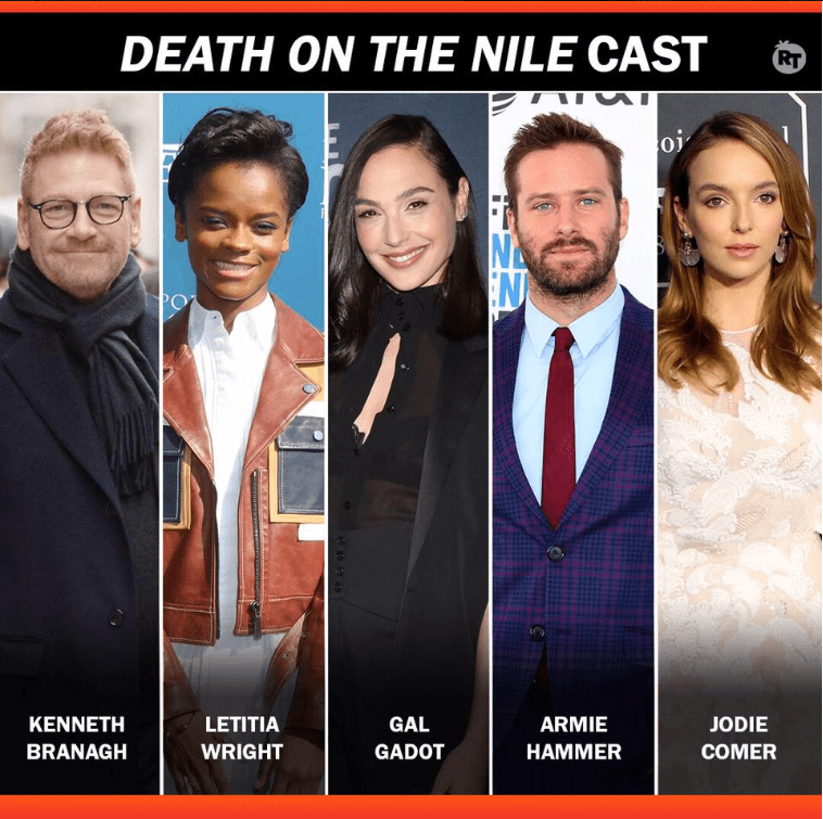 Death on the Nile Cast Members