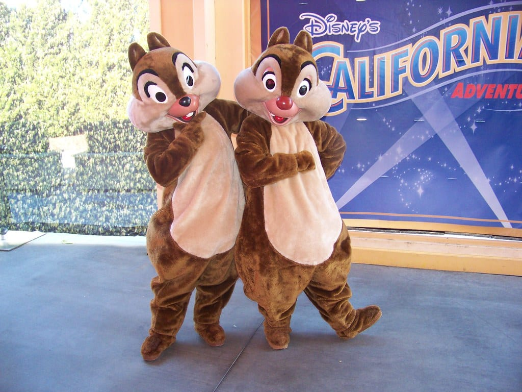"""""""Chip n' Dale at the Visa Rewards Meet-And-Greet"""" by Castles, Capes & Clones is licensed under CC BY-ND 2.0"""