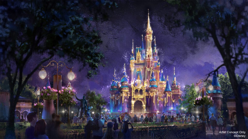 Walt Disney World 50th Anniversary Celebration [Source: Disney]
