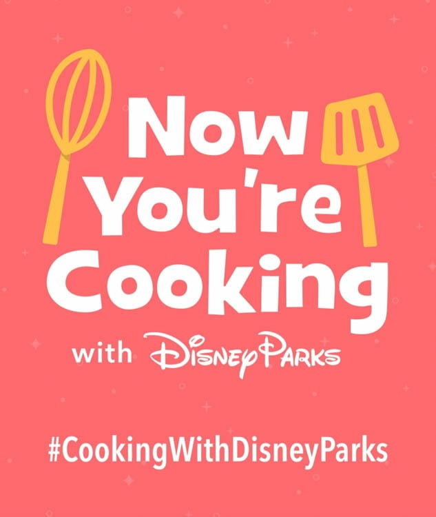Now You're Cooking with Disney Parks [Source: Disneyland App]
